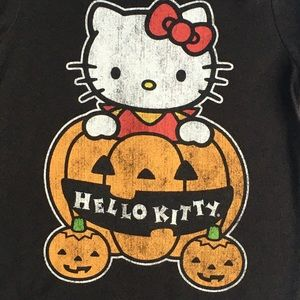 Hello Kitty shirt size 2T Halloween pumpkin Girls
